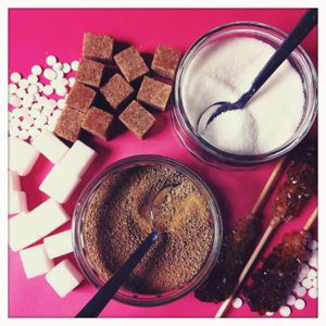 Süßstoffe gemischt