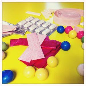 Süßigkeiten mit Neotam.