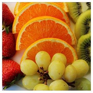 Früchten, vor allem Trockenfrüchte, enthalten natürliches Sorbitol