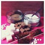 weisser brauner Zucker Vollrohrzucker gesund