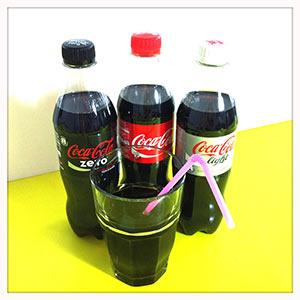 Wie viel Zucker steckt in Coca-Cola, Apfel- oder Traubensaft?