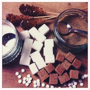 Zuckerersatzstoffe wie Thaumatin sind in vielen Zuckerfreien Lebensmitteln enthalten.